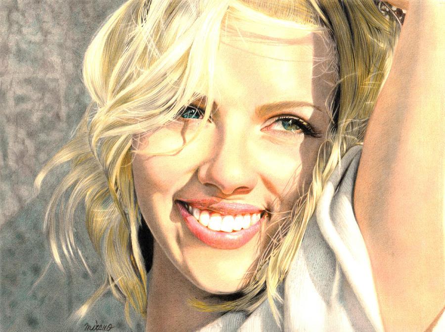 Scarlett Johansson by MITSUO2