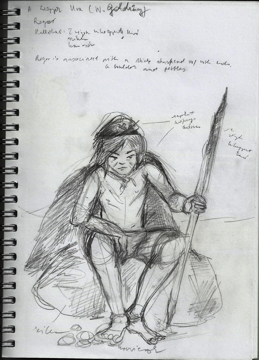 lord flies roger character study This study guide for william golding's the lord of the flies offers summary and analysis on themes, symbols, and other literary devices found in the text explore studypool's library of literature materials, including documents and q&a discussions.