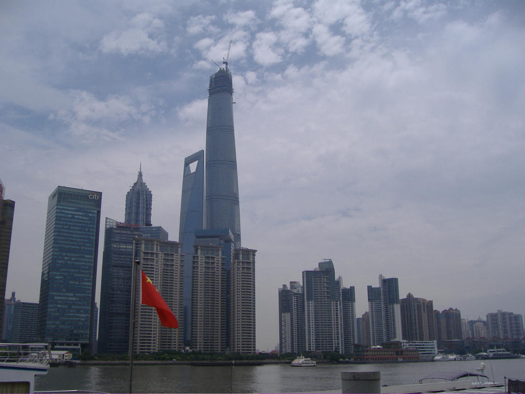 Skyscrapers of Pudong by bejKutyej