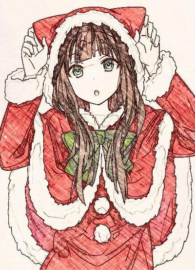 Merry Christmas Anime.Merry Christmas Anime By Ashelynsapphire On Deviantart