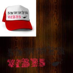 summer vibes - trucker hat by RoyalBlade