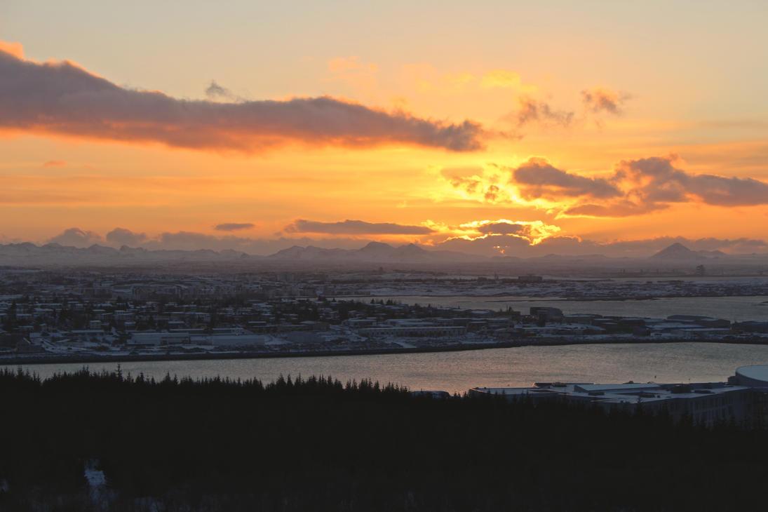 3PM Sunset @ Perlan by fartprincess