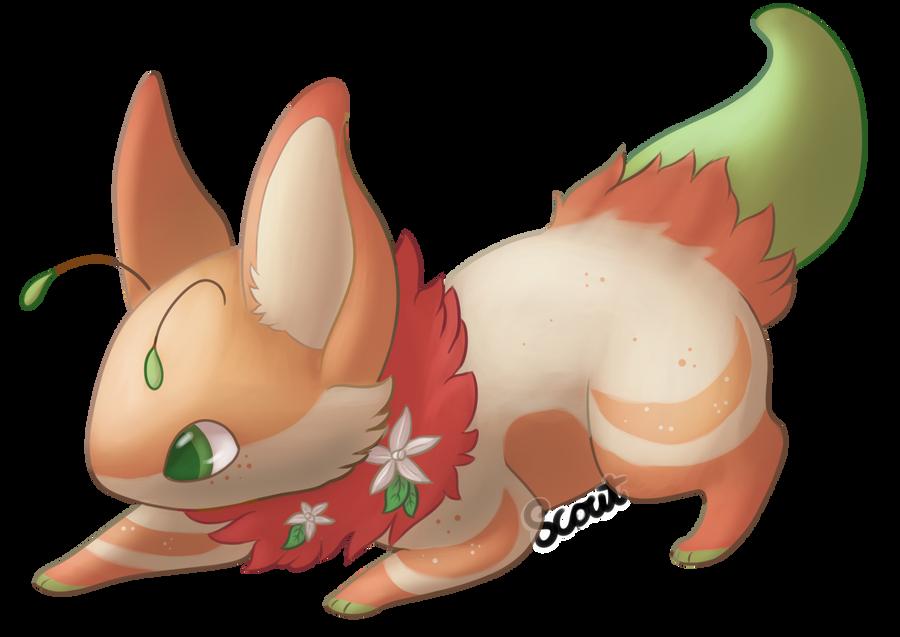 Orange Blossom Bea! by ScoutCritter