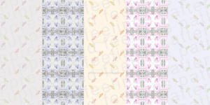 Candies and Tulips Patterns