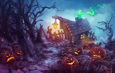 witch house by BigMuzzzy