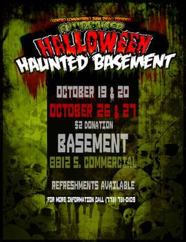 Halloween Haunted Basemenet
