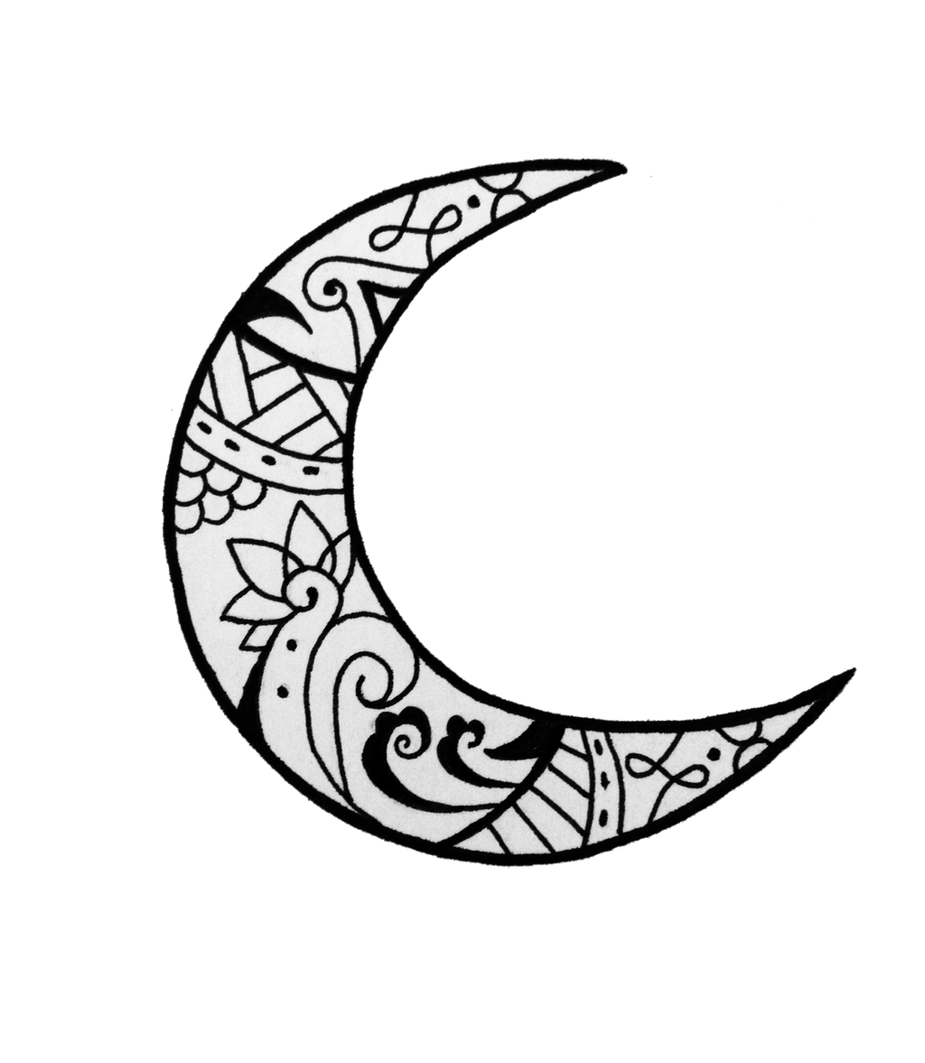 Moon Tattoo By Lmushrimp On Deviantart