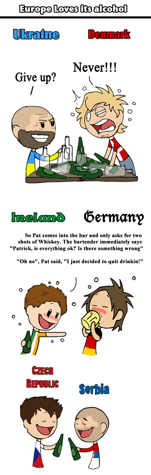Europe loves its Alcohol by ShrapnelLeader