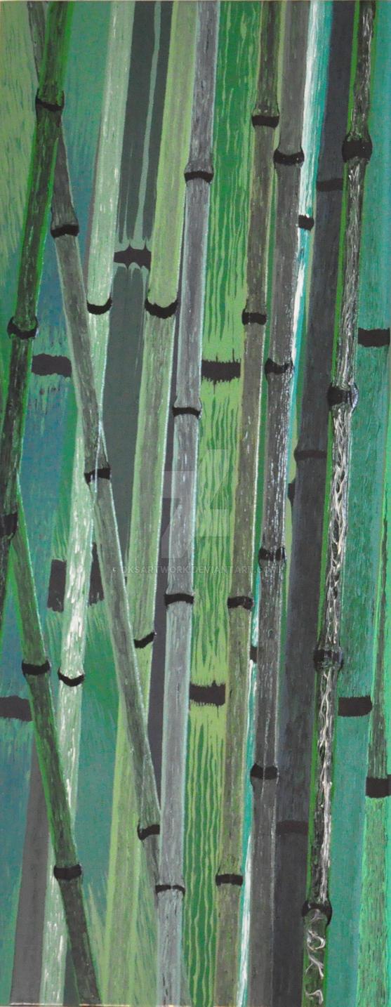 Bamboos 1 by dksartwork