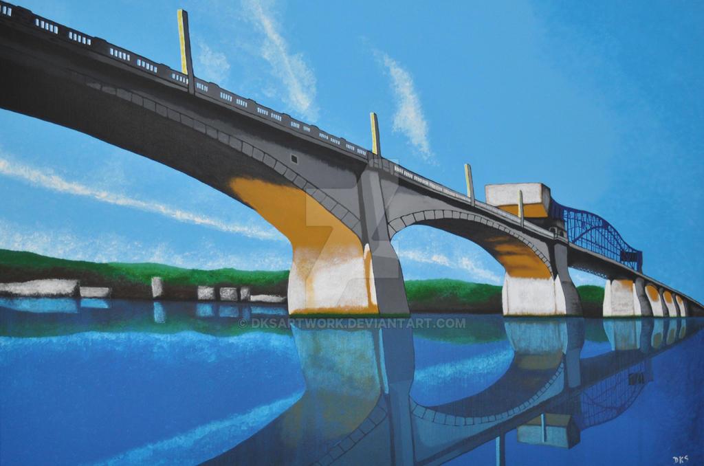 Market Street Bridge by dksartwork