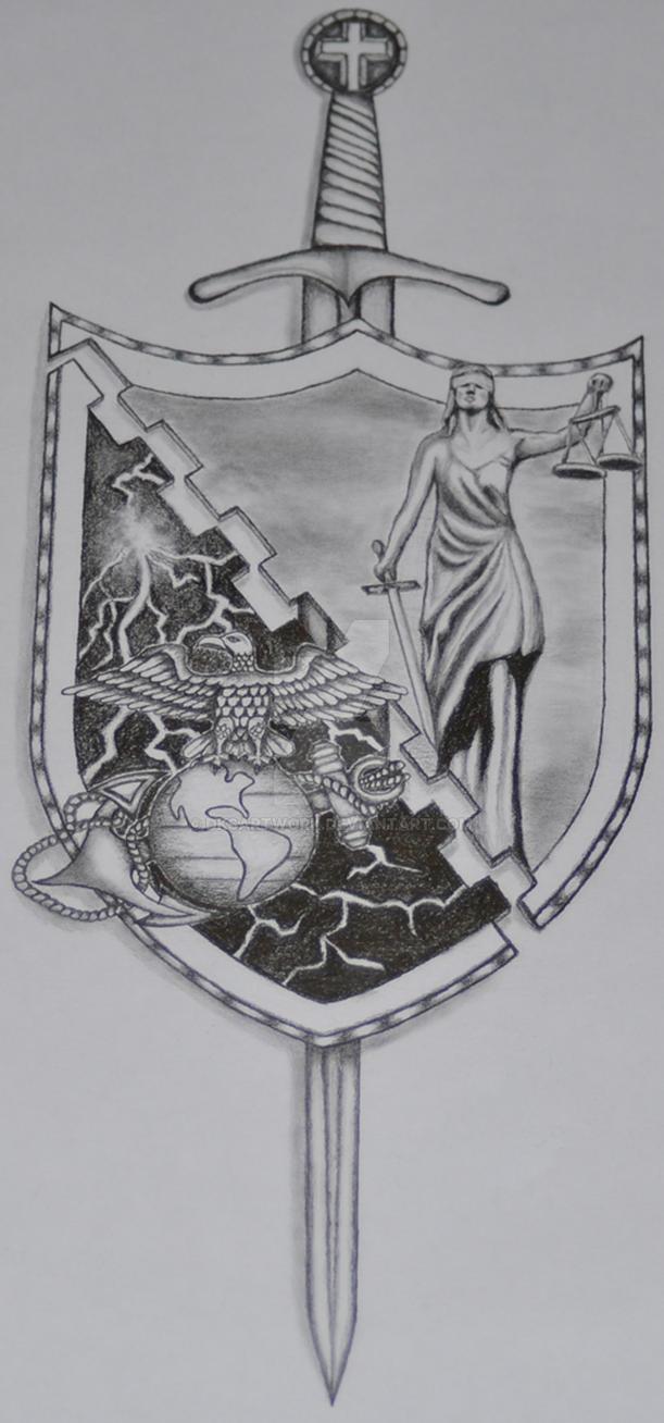 Semper Fidelis Justice by dksartwork