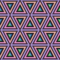 Triangles or Cubes Illusion by kawgraphics