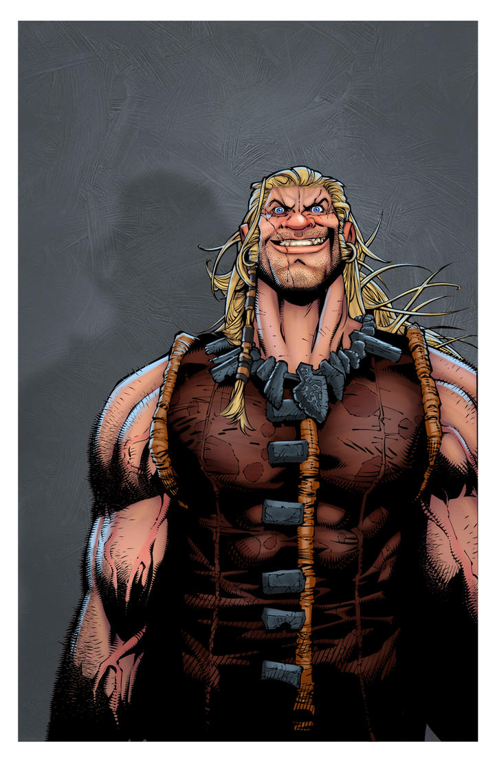 Chris Bachalo Sabretooth by larsloenstrup