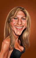 Jennifer Aniston by edvanderlinden