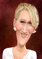 Meryl Streep by edvanderlinden