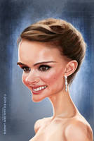 Natalie Portman by edvanderlinden
