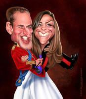 William and Kate by edvanderlinden