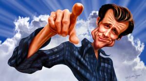 Jim Carrey by edvanderlinden