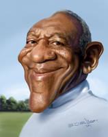 Bill Cosby by edvanderlinden