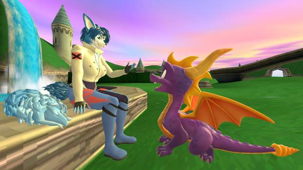 [SFM] Krystal and Spyro