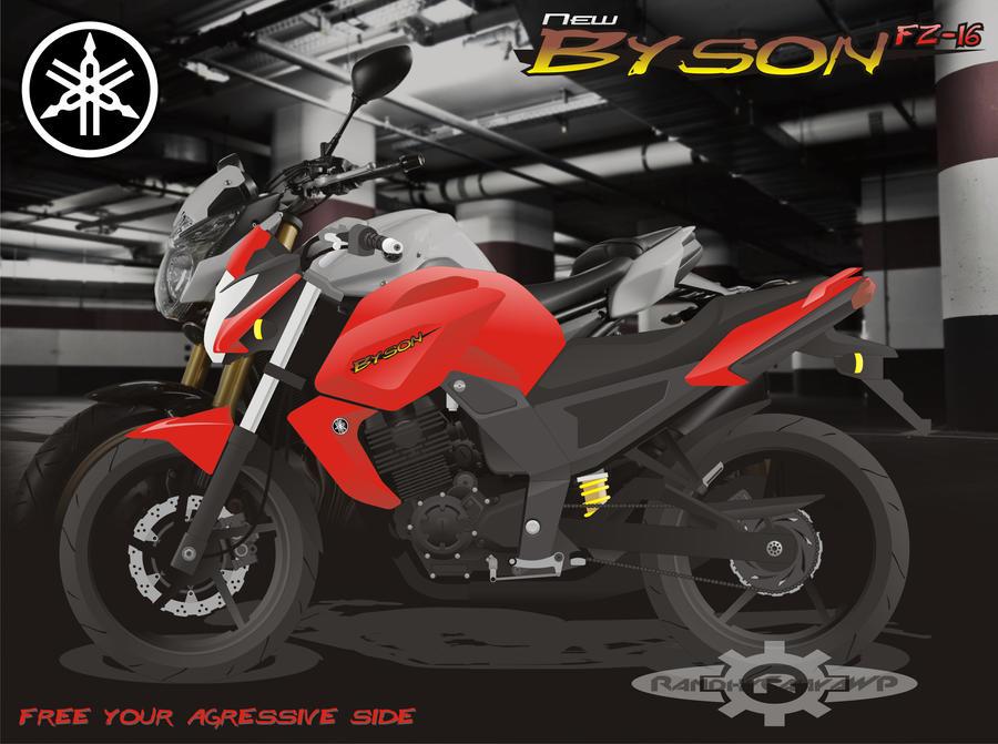 Yamaha FZ-16 Byson By Rerenosuke On DeviantArt