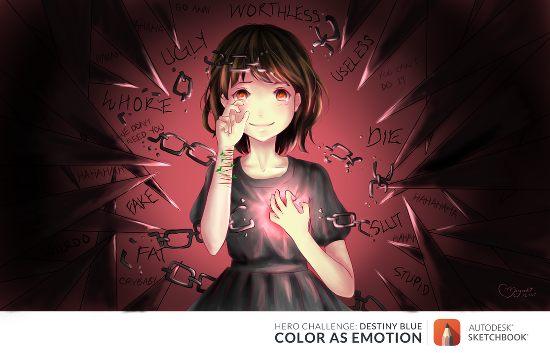 Color As Emotion: Love by ufo-gala