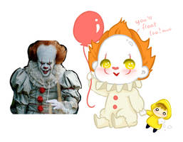 Pennywise Cute ver. by ufo-galz