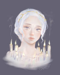 Candles by ufo-galz