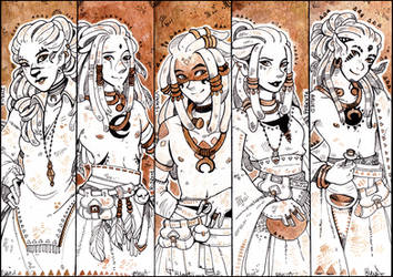 Bookmarks by Rituhell