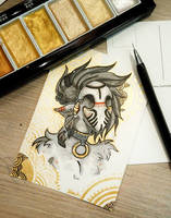 Fairy PostCard by Rituhell