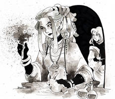 Inktober 1 by Rituhell