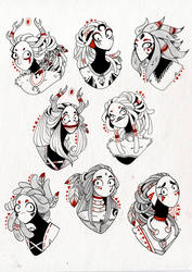 Planche 1 - Dieux by Rituhell