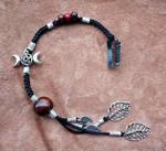 Bijoux triple lune et pentacle