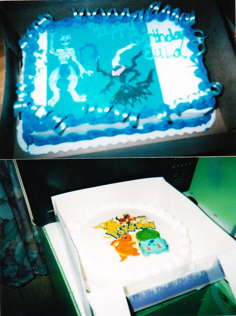 POKEMON BIRTHDAY CAKES by MEWTWOSAMBASSADOR