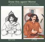 Draw this again! Year later