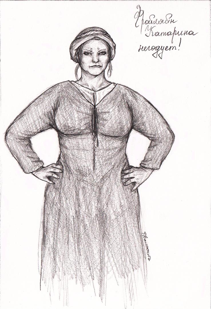 Fraulein Catarina by FioreValentine