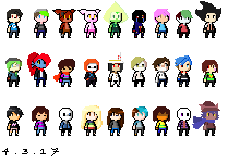 Too Many Pixels #1 by GalaxyGal-11