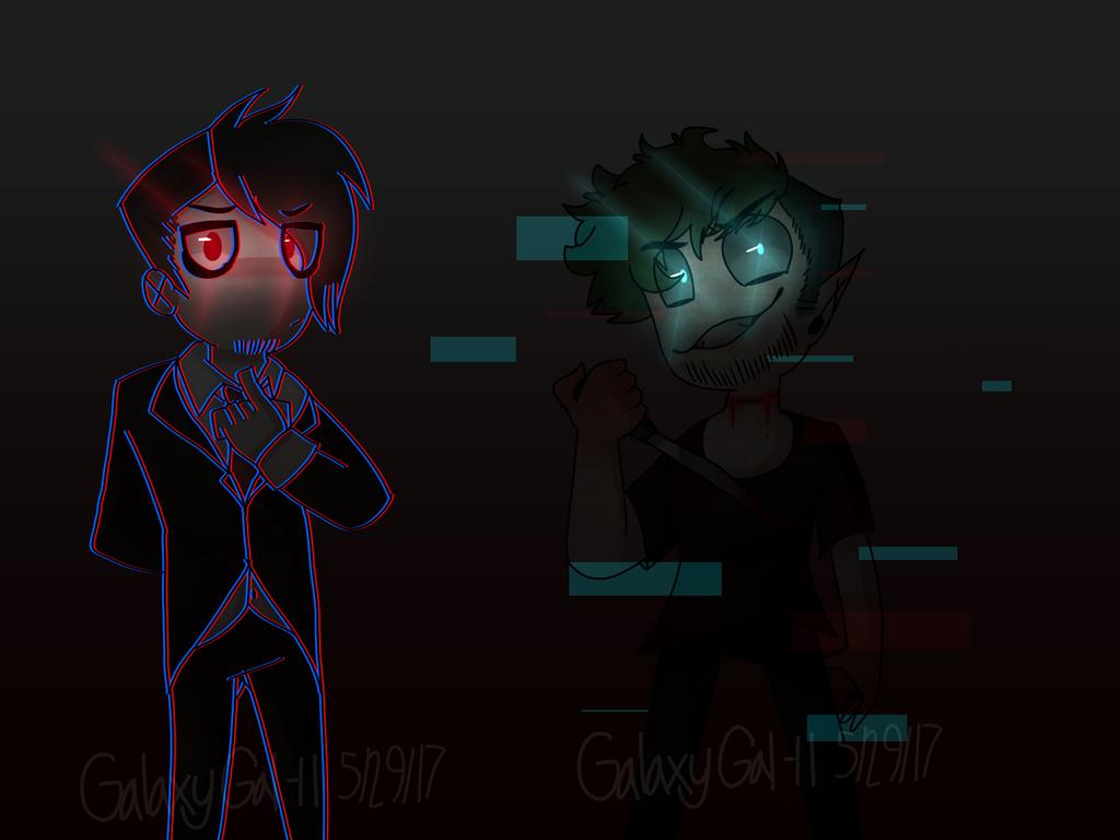 (AntiSepticEye Darkiplier)Did You Miss Us? by GalaxyGal-11 ...