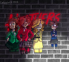 BMC x Heathers AU by GalaxyGal-11