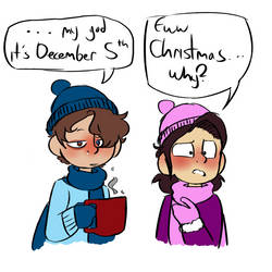 (BMC)Ew Christmas(joke comic) by GalaxyGal-11