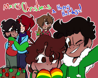 (BMC)Merry Christmas and Happy Holidays by GalaxyGal-11