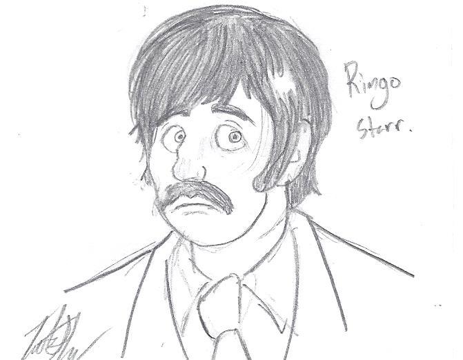 Ringo Starr by TateShaw