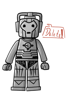 LEGO CYBERMAN by TateShaw
