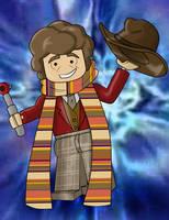 Lego 4th Doctor by TateShaw