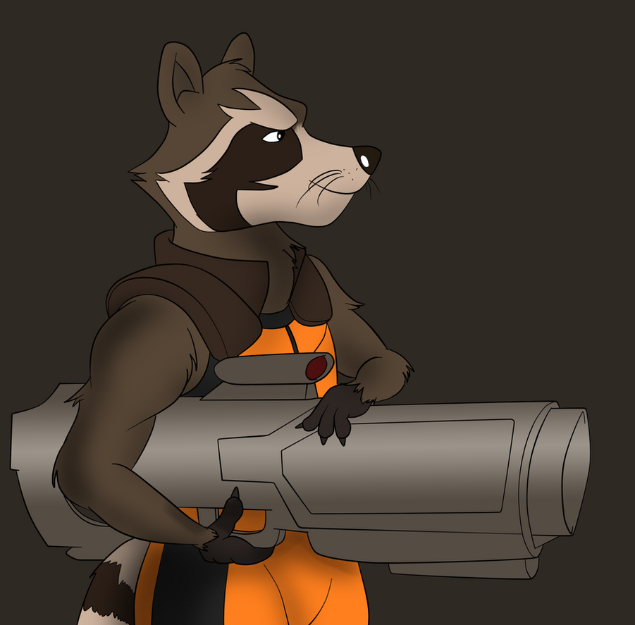 Rocket Raccoon by TateShaw