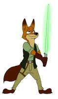 Jedi Nick by TateShaw