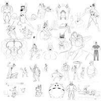 Shep Sketch Page (Feb)