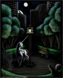 Where do Unicorns Go? by benwhoski