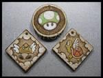 More Mario Pendants