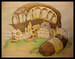 Catbus and Totoro